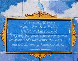 Rufus Pinkney Mural Detail