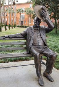 John B. Stetson Sculpture