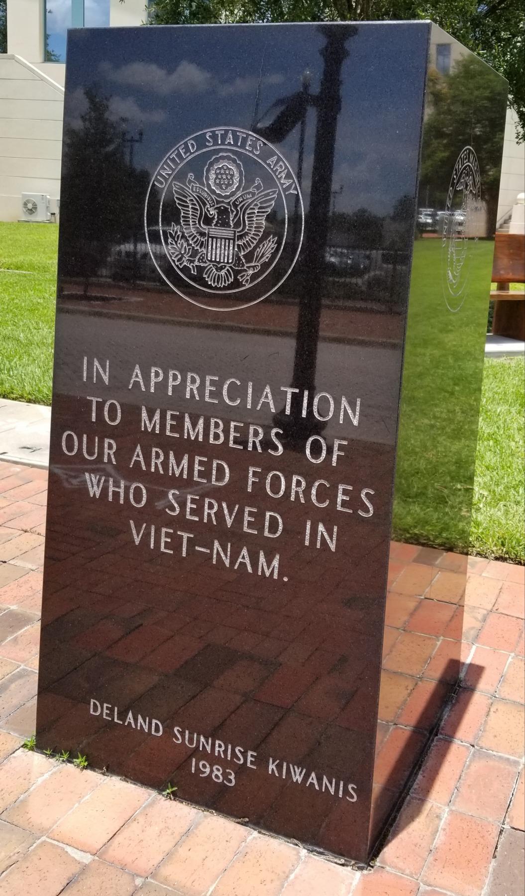 Vietnam Memorial DeLand, FL