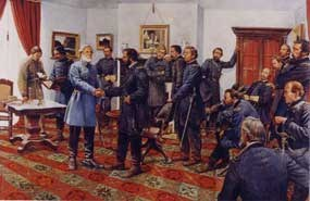 Surrender at Appomattox by Keith Rocco