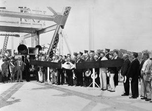Lake Monroe Bridge dedication April 6, 1934