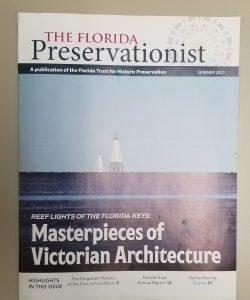 Florida Preservationist cover Summer 2021