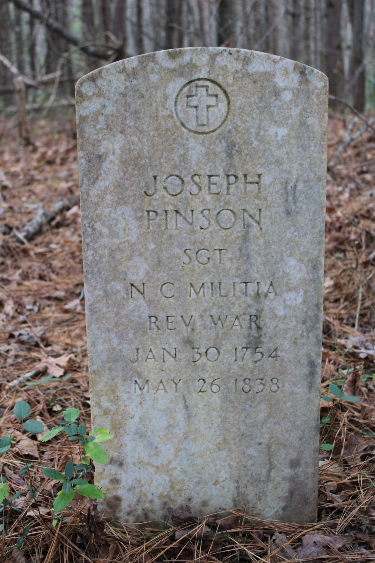 Joseph Pinson headstone