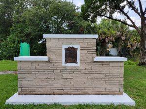 1961 Edgewater Florida Veterans Park Memorial