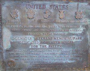 Detail of the 1988 Memorial