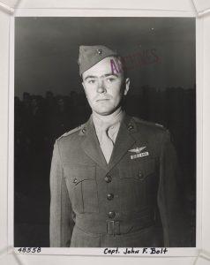 Captain John F. Bolt, USMC